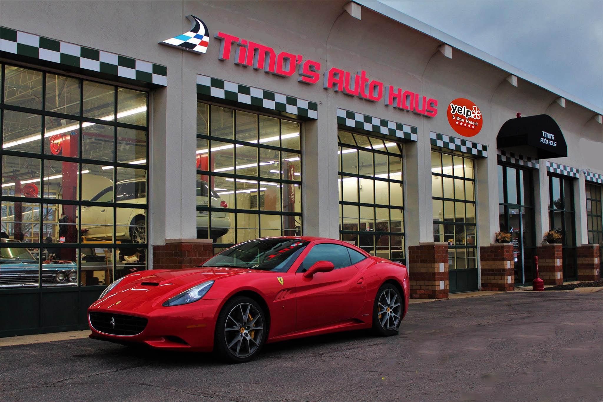 Auto Repair Chicago >> Exotic Car Repair Timo S Auto Haus Bloomingdale Auto Repair